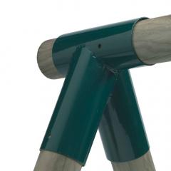 Houpačková spojka kulatá 100/100 mm