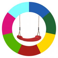 Změna barvy houpačkových sedátek  621091_k