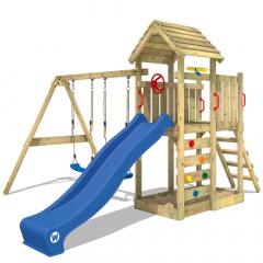 Dětské hřiště Wickey MultiFlyer s dřevěná střecha
