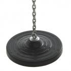 Talířová houpačka z gumy (pro veřejné užití)