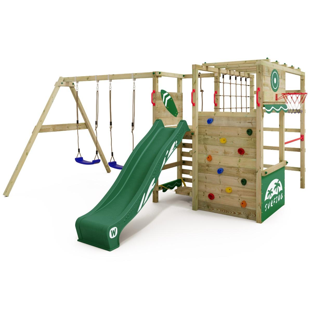 Obrázek Wickey Dětská prolézačka se skluzavkou Smart Sparkle Dětské hřiště